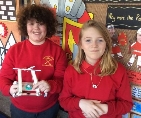 Catapults for the emperor Claudius…