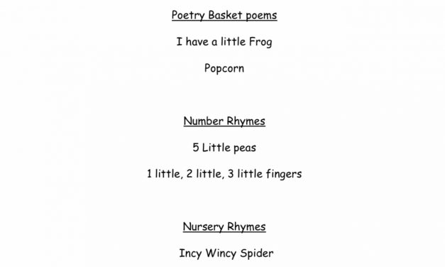 Nursery Sing-along